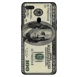 Durable 100 Dollar Note Cover For Oppo R15