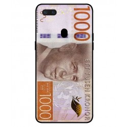 Durable 1000Kr Sweden Note Cover For Oppo R15