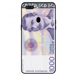 1000 Norwegian Kroner Note Cover For Oppo R15
