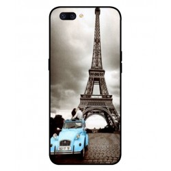 Durable Paris Eiffel Tower Cover For Oppo F7