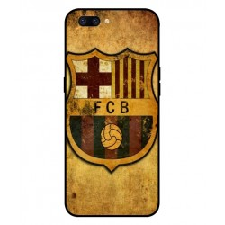 Durable FC Barcelona Cover For Oppo F7