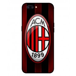 Durable AC Milan Cover For Oppo F7