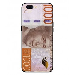 Durable 1000Kr Sweden Note Cover For Oppo F7
