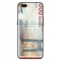 1000 Danish Kroner Note Cover For Oppo F7