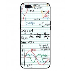 Durable Mathematics Cover For Oppo F7