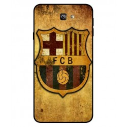 Durable FC Barcelona Cover For Samsung Galaxy J7 Prime 2
