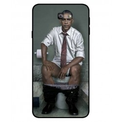 Durable Obama On The Toilet Cover For Samsung Galaxy J7 Prime 2