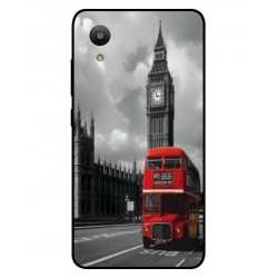 Durable London Cover For Sharp Aquos S3 Mini