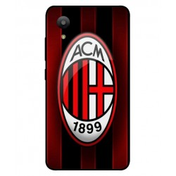 Durable AC Milan Cover For Sharp Aquos S3 Mini