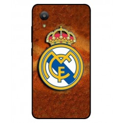 Durable Real Madrid Cover For Sharp Aquos S3 Mini