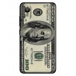 Durable 100 Dollar Note Cover For Sharp Aquos S3 Mini