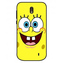 Durable SpongeBob Cover For Nokia 1