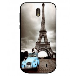Durable Paris Eiffel Tower Cover For Nokia 1