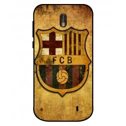 Durable FC Barcelona Cover For Nokia 1