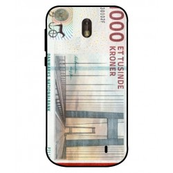 1000 Danish Kroner Note Cover For Nokia 1