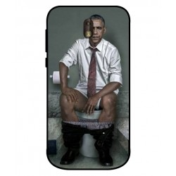 Durable Obama On The Toilet Cover For Nokia 1