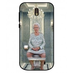Durable Queen Elizabeth On The Toilet Cover For Nokia 1