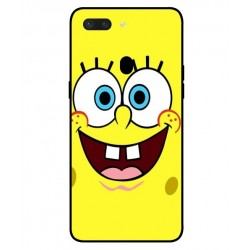 Durable SpongeBob Cover For Oppo R15 Pro