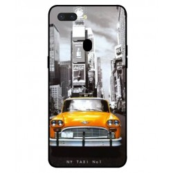Durable New York Cover For Oppo R15 Pro