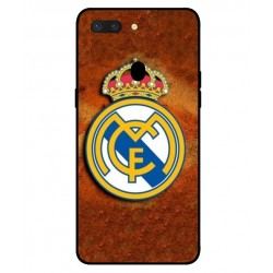 Durable Real Madrid Cover For Oppo R15 Pro