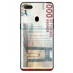 1000 Danish Kroner Note Cover For Oppo R15 Pro