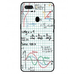 Durable Mathematics Cover For Oppo R15 Pro