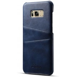 Hard Leather Cover For Samsung Galaxy S8
