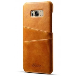 Hard Leather Cover For Samsung Galaxy S8 Plus