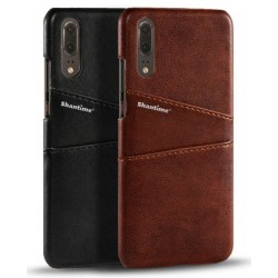 Hard Leather Cover For Huawei P20
