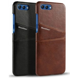 Coque De Protection Rigide en Cuir Pour Huawei Honor View 10