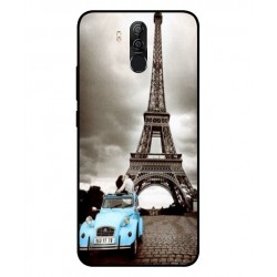 Durable Paris Eiffel Tower Cover For Ulefone Power 3s