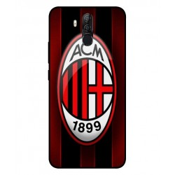 Durable AC Milan Cover For Ulefone Power 3s