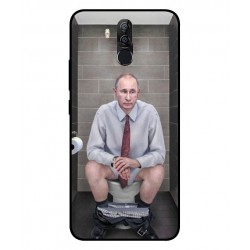 Durable Vladimir Putin On The Toilet Cover For Ulefone Power 3s