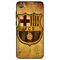 Durable FC Barcelona Cover For HTC Desire 12