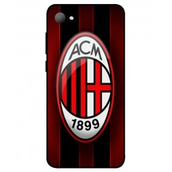 Durable AC Milan Cover For HTC Desire 12
