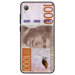 Durable 1000Kr Sweden Note Cover For HTC Desire 12