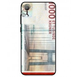 1000 Danish Kroner Note Cover For HTC Desire 12