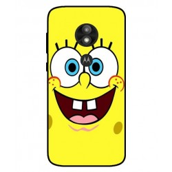 Durable SpongeBob Cover For Motorola Moto E5 Play