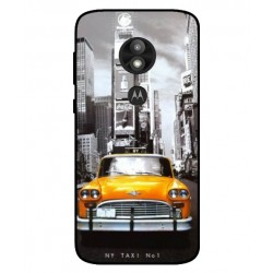 Durable New York Cover For Motorola Moto E5 Play