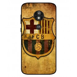 Durable FC Barcelona Cover For Motorola Moto E5 Play