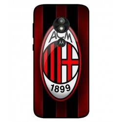 Durable AC Milan Cover For Motorola Moto E5 Play