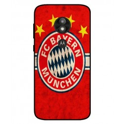 Durable Bayern De Munich Cover For Motorola Moto E5 Play