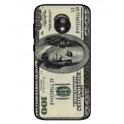 Durable 100 Dollar Note Cover For Motorola Moto E5 Play