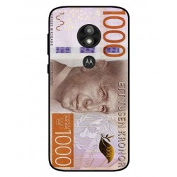 Durable 1000Kr Sweden Note Cover For Motorola Moto E5 Play