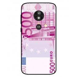 Durable 500 Euro Note Cover For Motorola Moto E5 Play