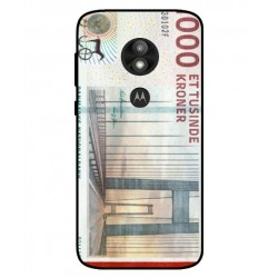1000 Danish Kroner Note Cover For Motorola Moto E5 Play