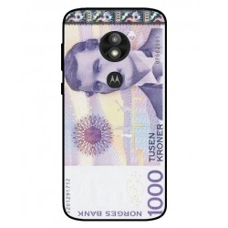 1000 Norwegian Kroner Note Cover For Motorola Moto E5 Play