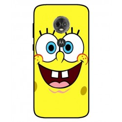 Durable SpongeBob Cover For Motorola Moto E5 Plus
