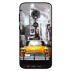 Durable New York Cover For Motorola Moto E5 Plus
