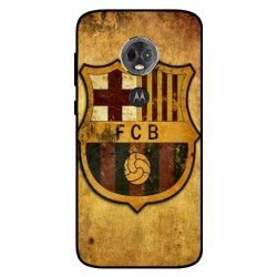Durable FC Barcelona Cover For Motorola Moto E5 Plus
